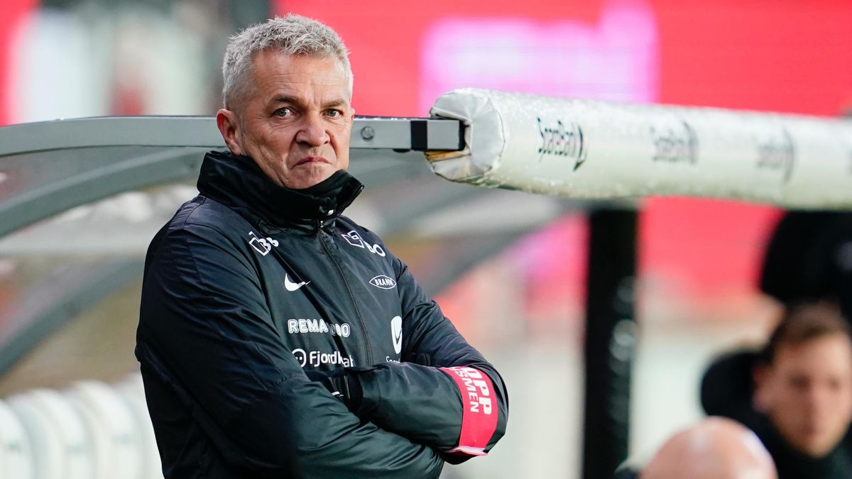 Brann-trener Kåre Ingebrigtsen.