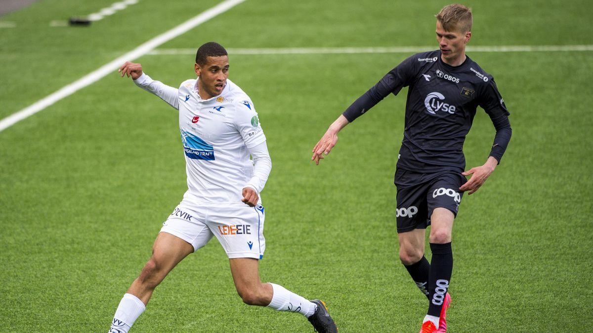 Bruno Leite og Vikings Samuel Fridjonsson