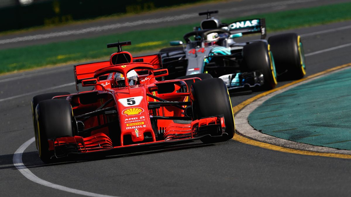 Sebastian Vettel, Lewis Hamilton, Getty Images
