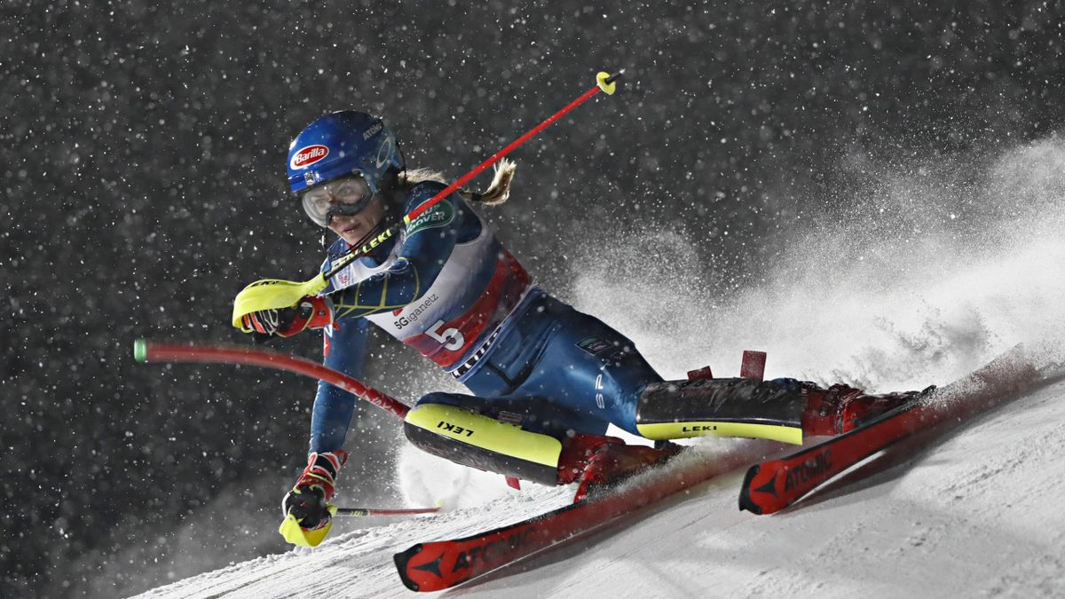 Mikaela Shiffrin, slalom speciale di Flachau