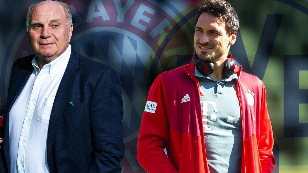 Uli Hoeneß sprach über den Deal mit Mats Hummels