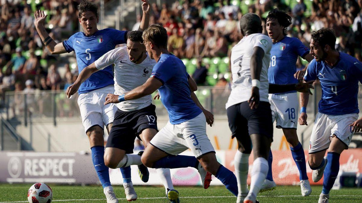 France - Italie - Euro U19 2018