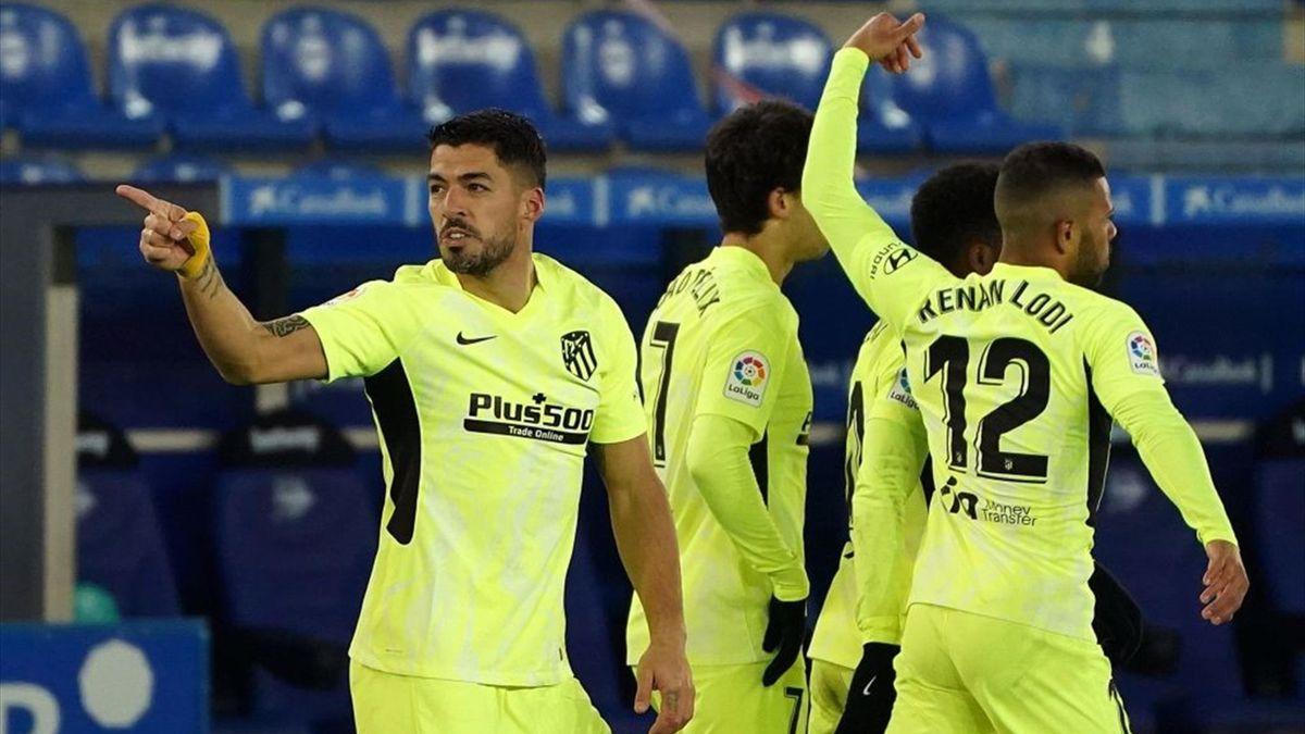 Luis Suarez - Alaves-Atletico Madrid - Liga 2020/2021 - Getty Images
