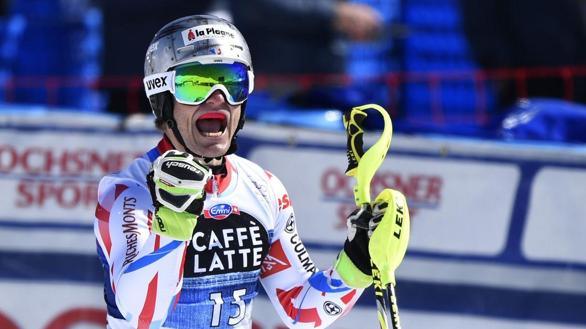 Julien Lizeroux lors des finales de St-Moritz en 2016