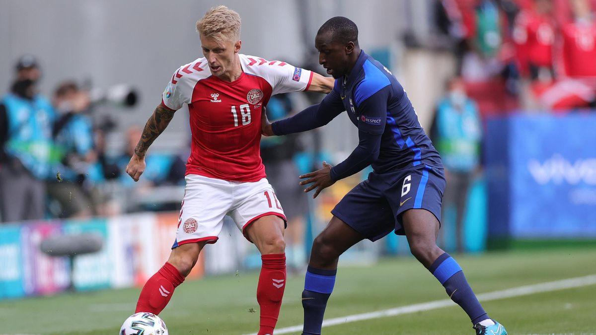 Daniel Wass, Glen Kamara, Danimarca-Finlandia, Euro 2020, Getty Images