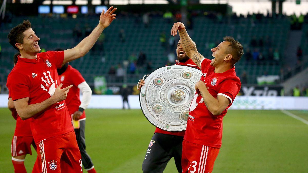 Robert Lewandsowski, Rafinha - FC Bayern München