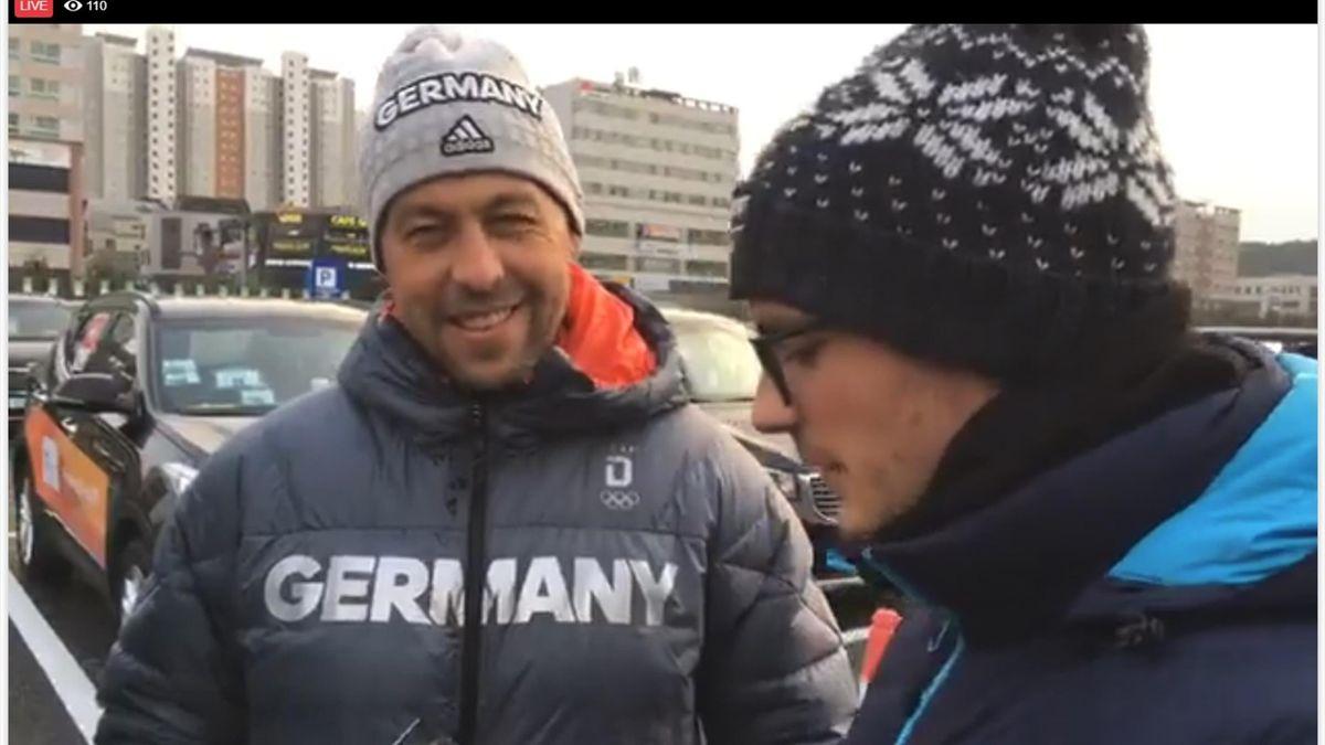 Olympia 2018: Marco Sturm im Facebook-Live