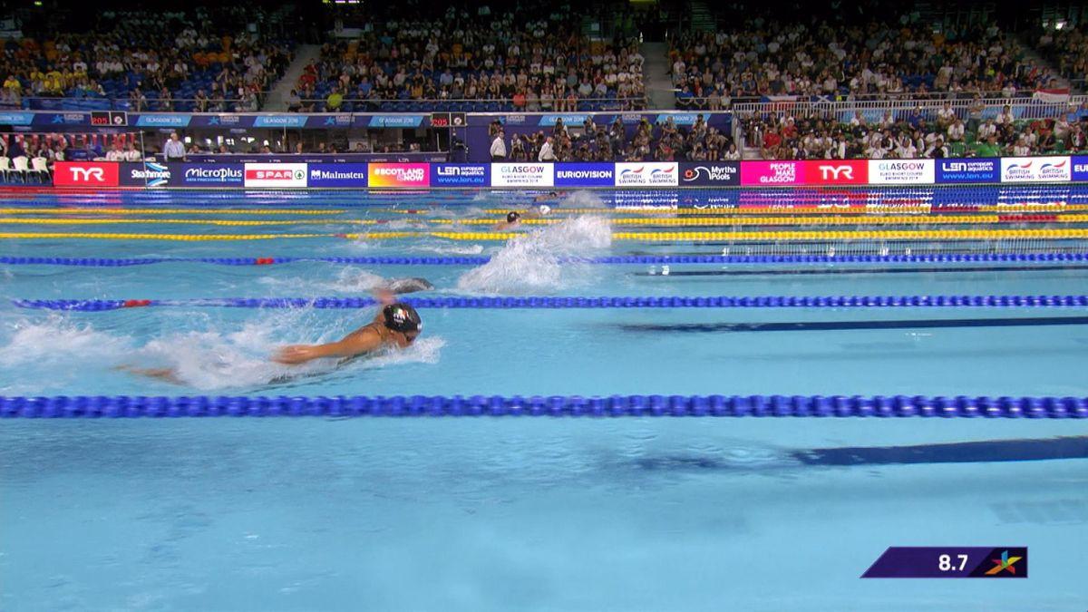 European Championship : 400m individual medley women