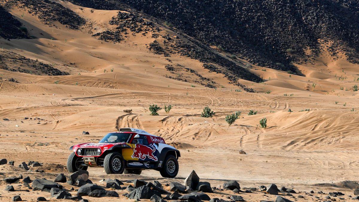 Carlos Sainz sur le Dakar 2020.