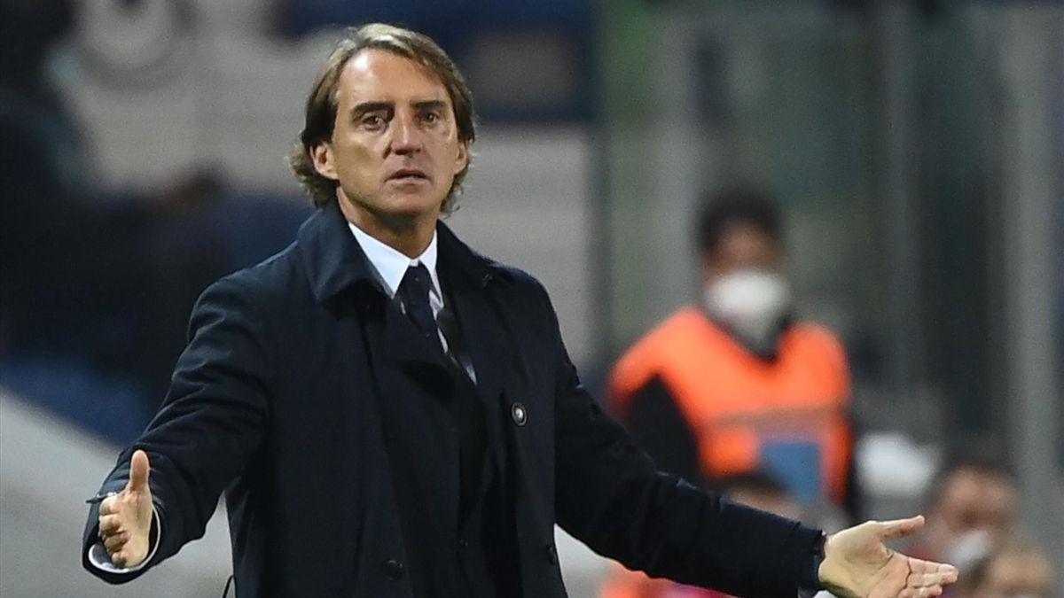 Roberto Mancini, allenatore della Nazionale Italiana