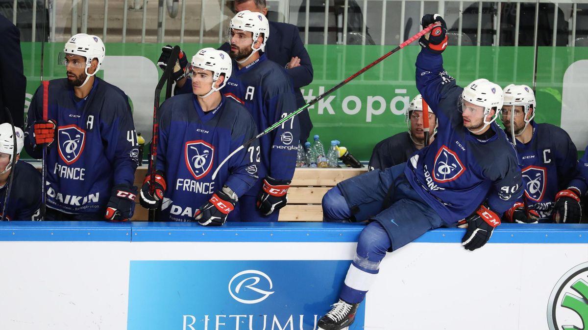 L'équipe de France de hockey s'est imposée 2 à 0 face à l'Italie lors du TQO organisé de Riga, se rapprochant un peu plus de son billet pour Pékin