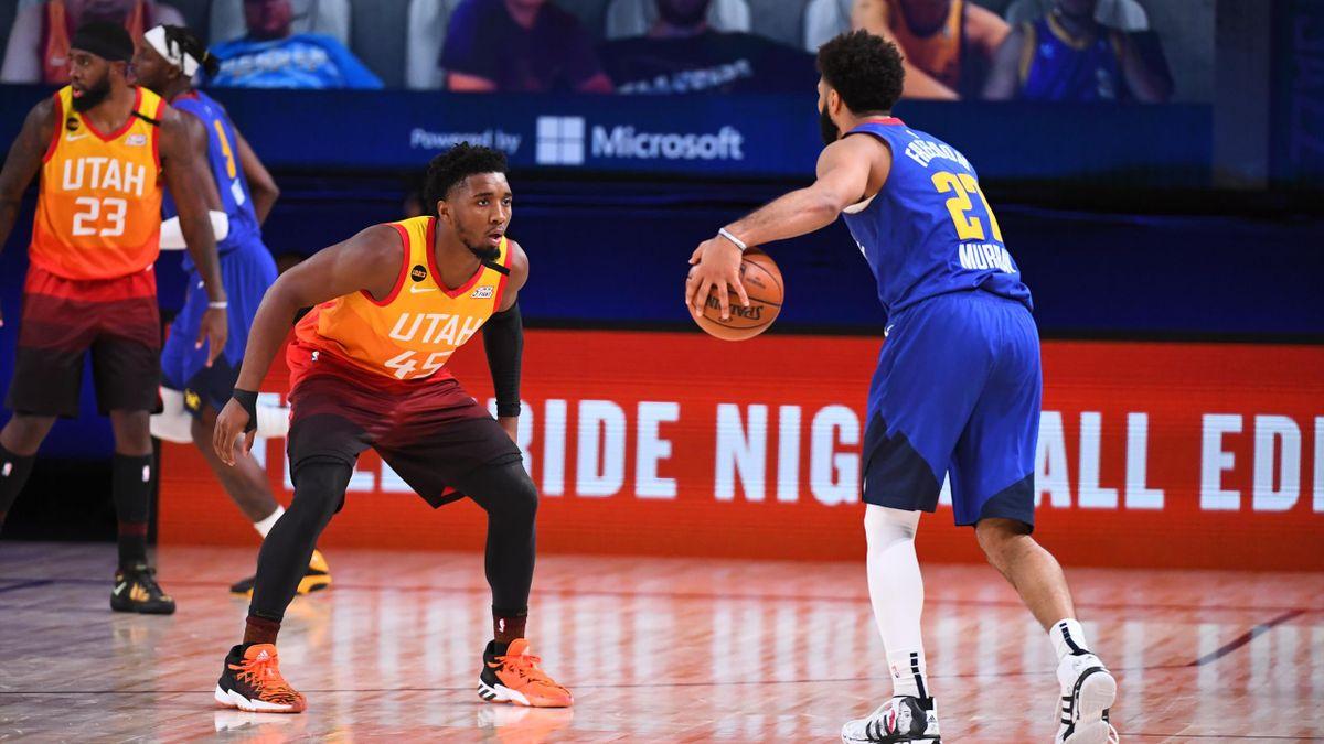 Donovan Mitchell face à Jamal Murray : les deux hommes enchaînent les exploits dans la série du 1er tour, entre Jazz et Nuggets - 30 août 2020