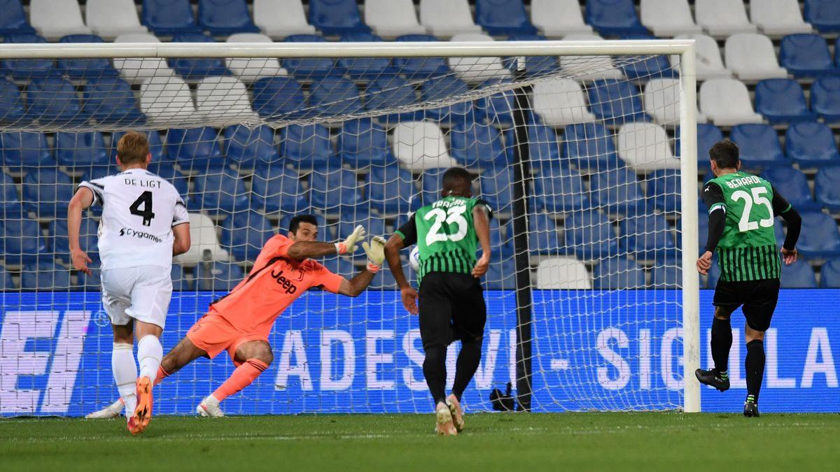 Buffon, Sassuolo-Juventus | Serie A 20-21