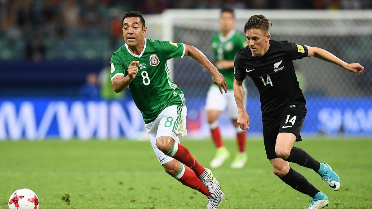 Marco Fabian im Spiel gegen Neuseeland