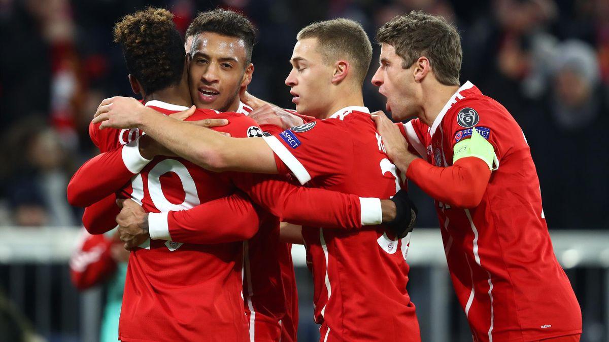 Bayern Munich Victory Not Enough To Prevent Psg Winning Group Eurosport