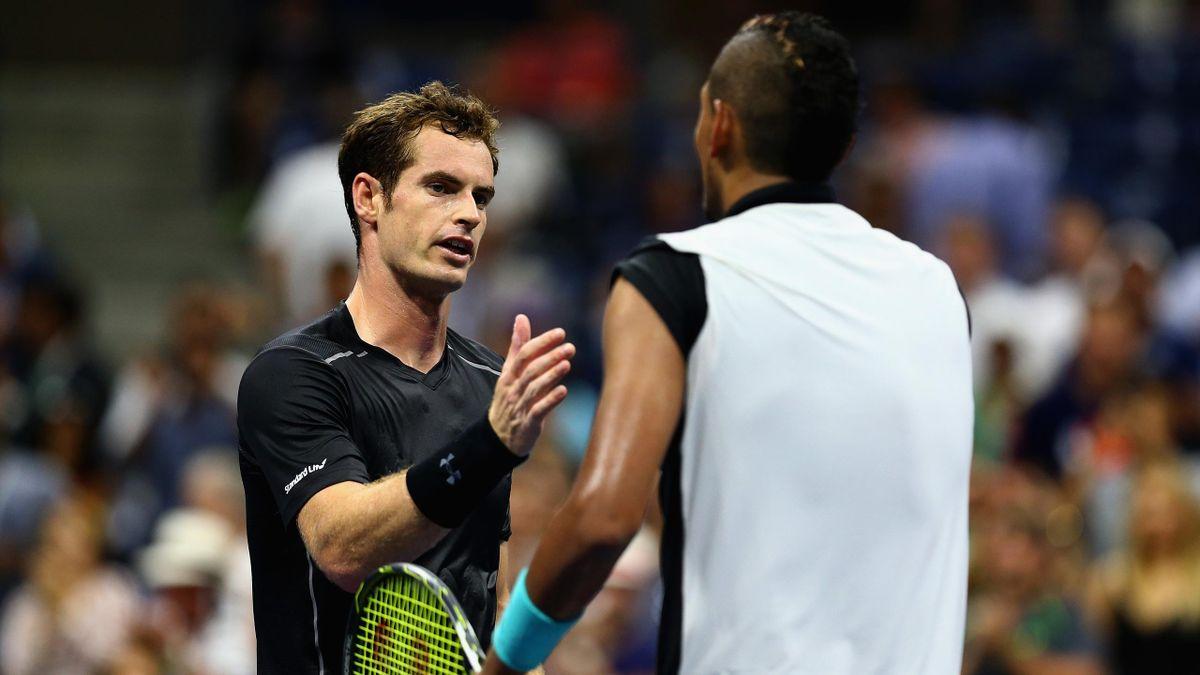 Andy Murray vainqueur de Nick Kyrgios au premier tour de l'US Open