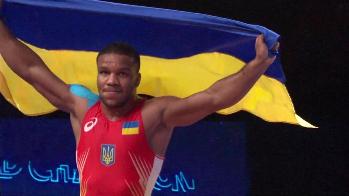 Wrestling - World champs - NoWrestling - World champs - Noursoultan - Gold medal Greco-Roman 87K
