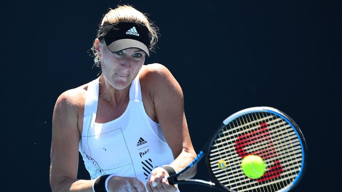 Kristina Mladenovic à l'Open d'Australie
