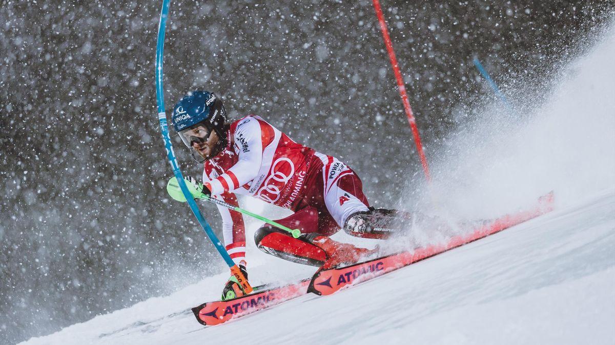 Marco Schwarz - Night Race in Schladming 2021