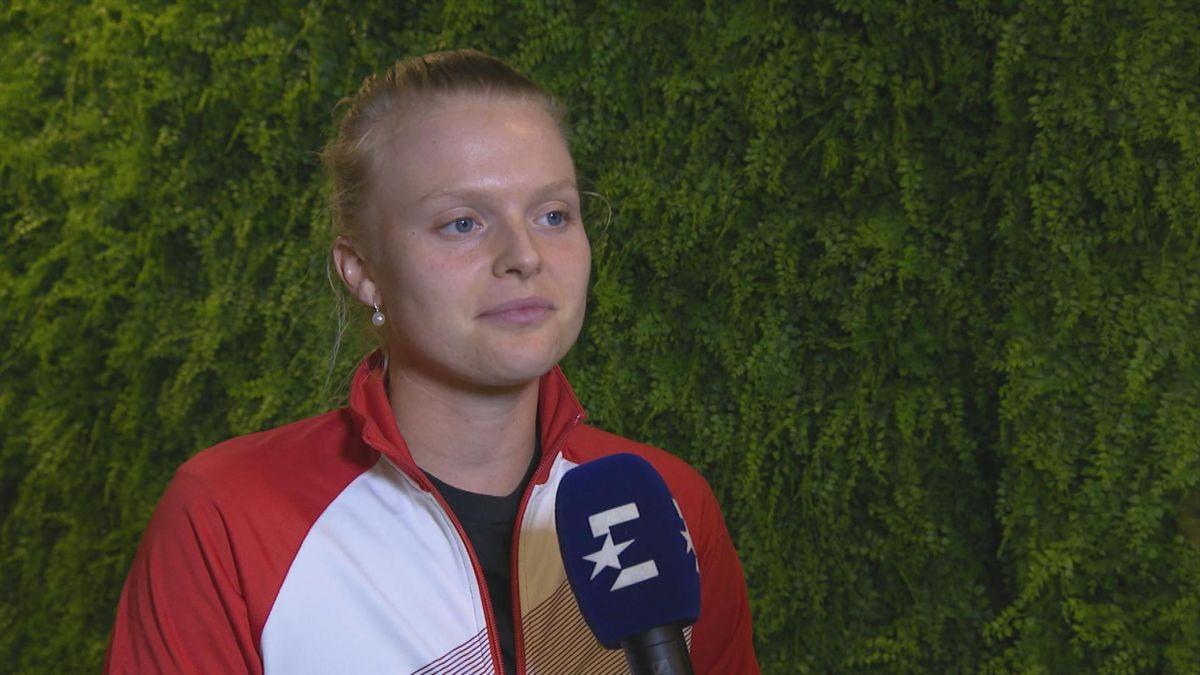 Australian Open: Interview Harriet DART (post match)