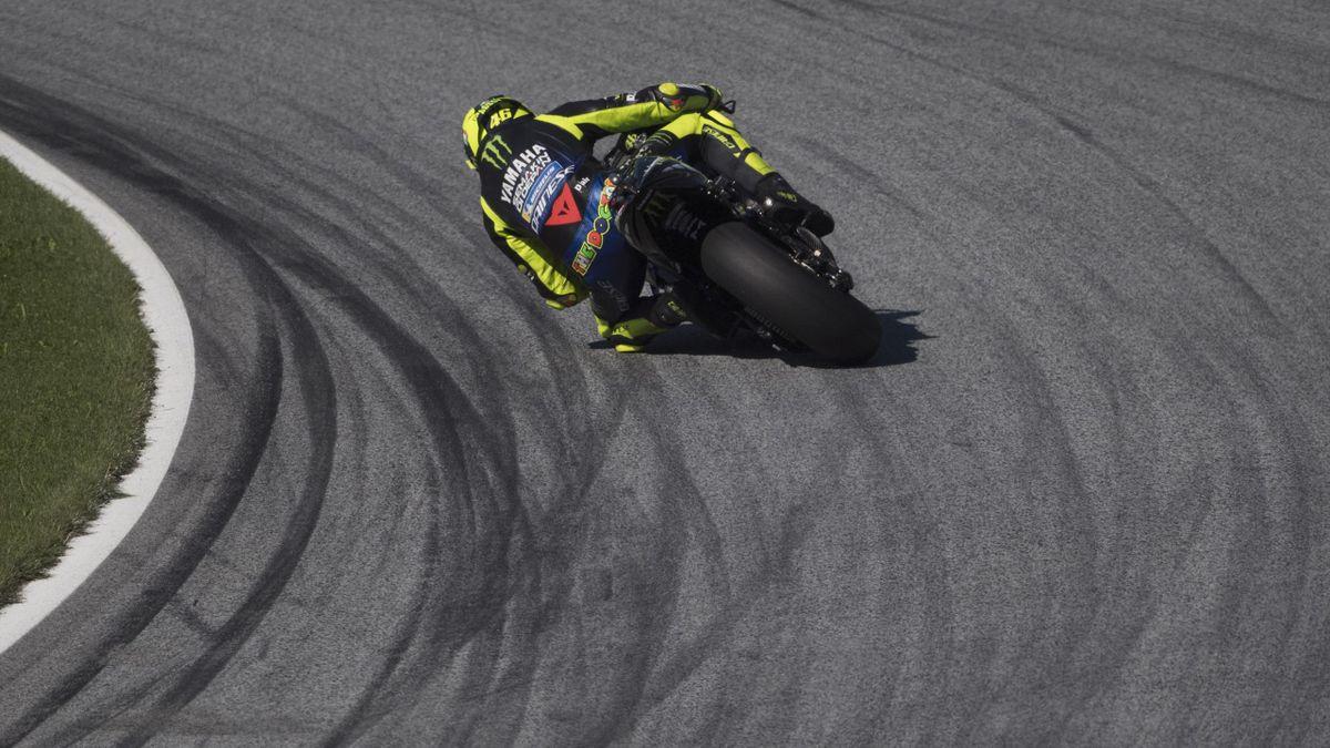 GP de Styrie - Valentino Rossi, lors des essais libres du vendredi 22 août 2020