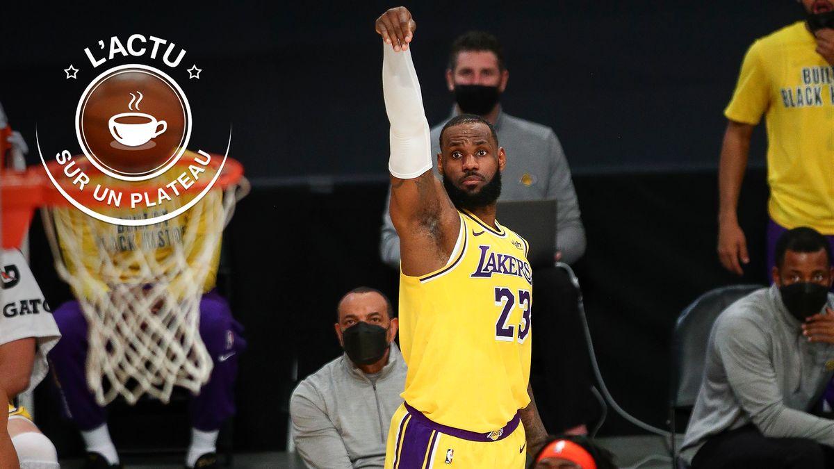 LeBron James met dedans ! L'actu sur un plateau de ce mardi 9 février 2021