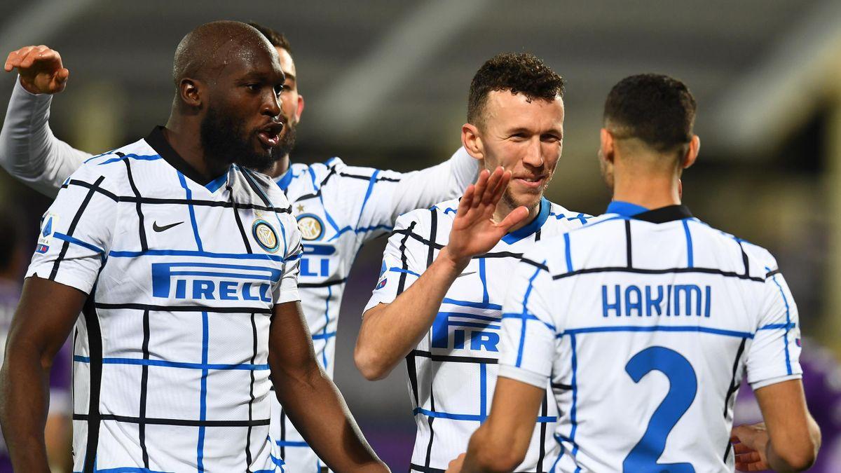 Inter Mailand jubelt über den Sieg beim AC Florenz