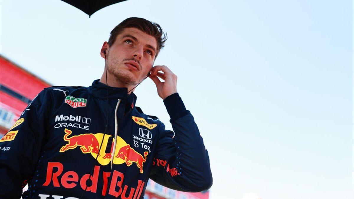 Max Verstappen in Silverstone