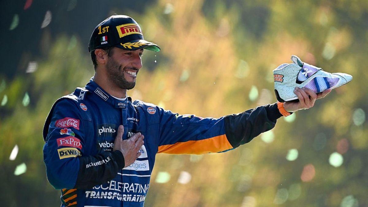 Daniel Ricciardo (McLaren) au Grand Prix d'Italie 2021