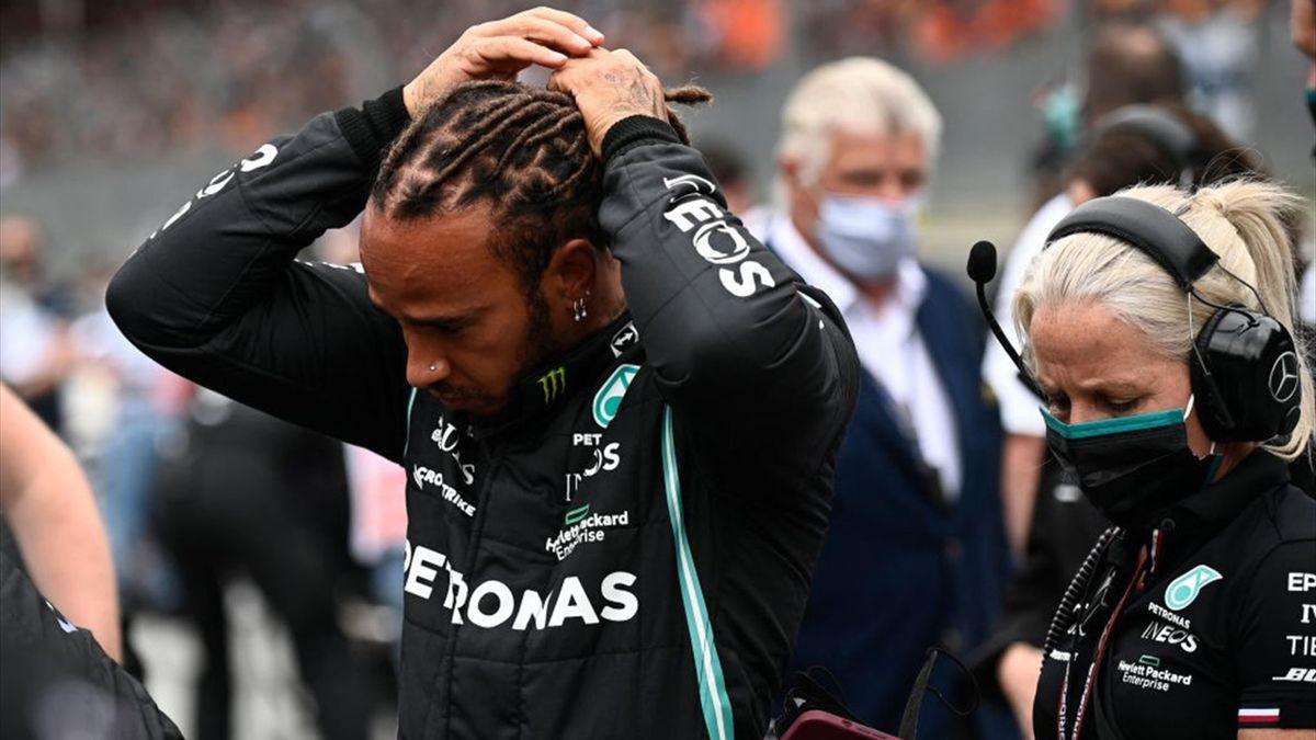 Lewis Hamilton (Mercedes) au Grand Prix d'Autriche 2021
