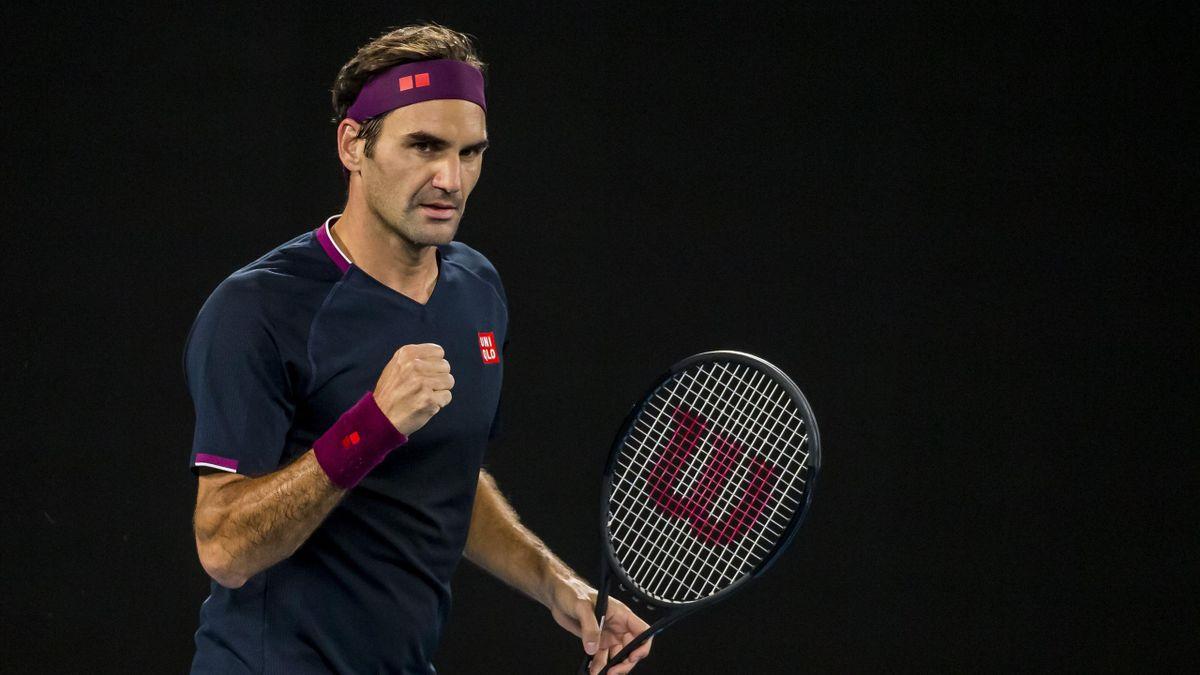 Roger Federer - Open d'Australie 2020