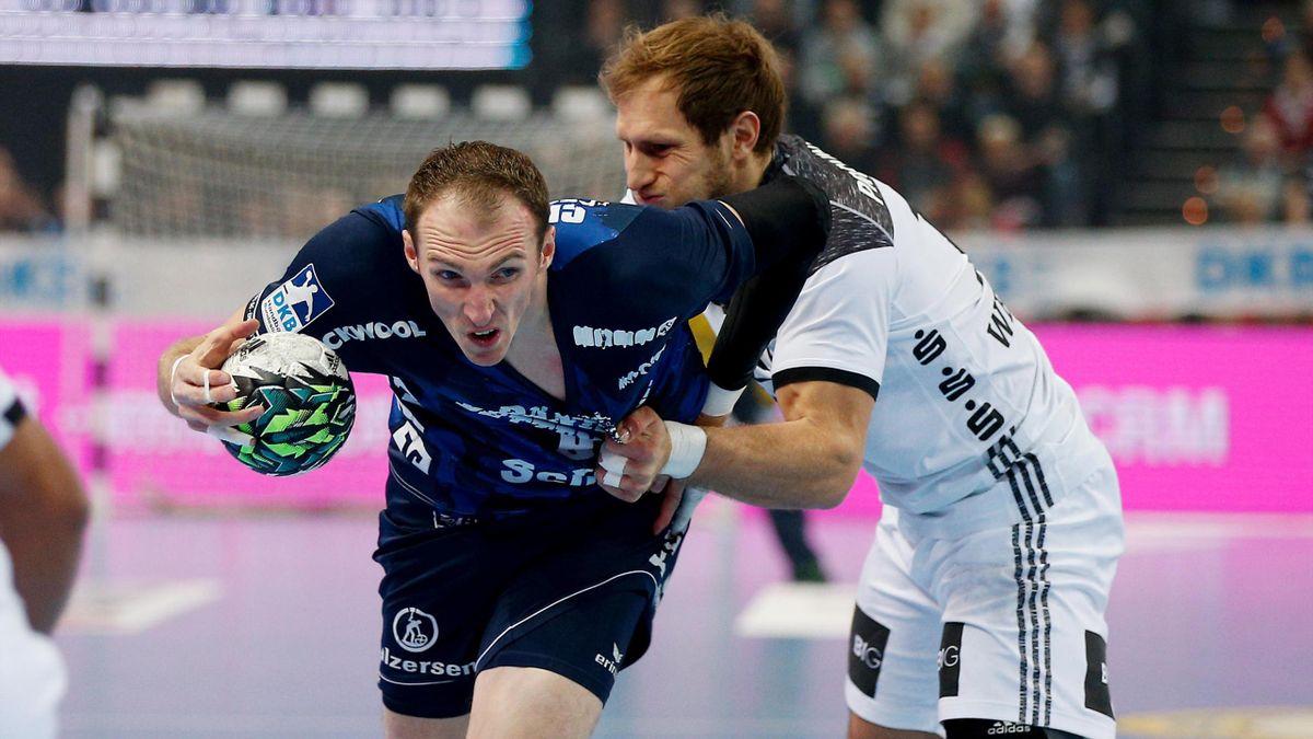 Holger Glandorf erzielt fünf Tore für die Flensburger