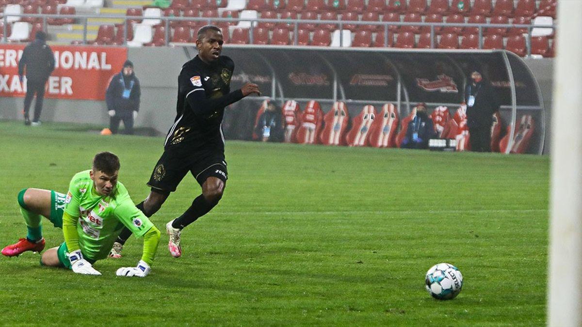 Dumitru Cardoso are 6 goluri în acest sezon pentru Gaz Metan