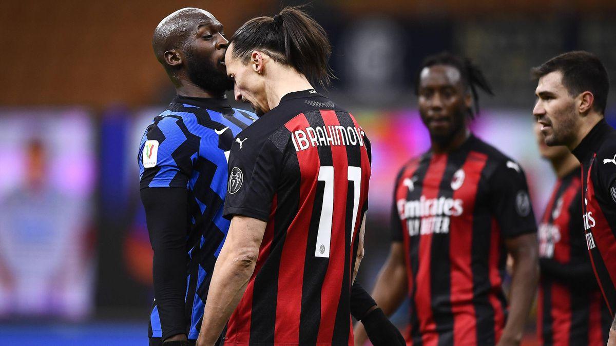 Lukaku e Ibrahimovic - Inter-Milan - Coppa Italia 2020-2021