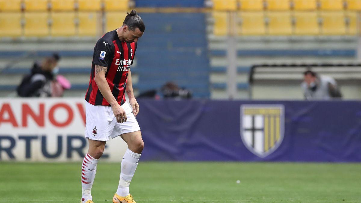 Zlatan Ibrahimovic, Parma-Milan, Getty Images