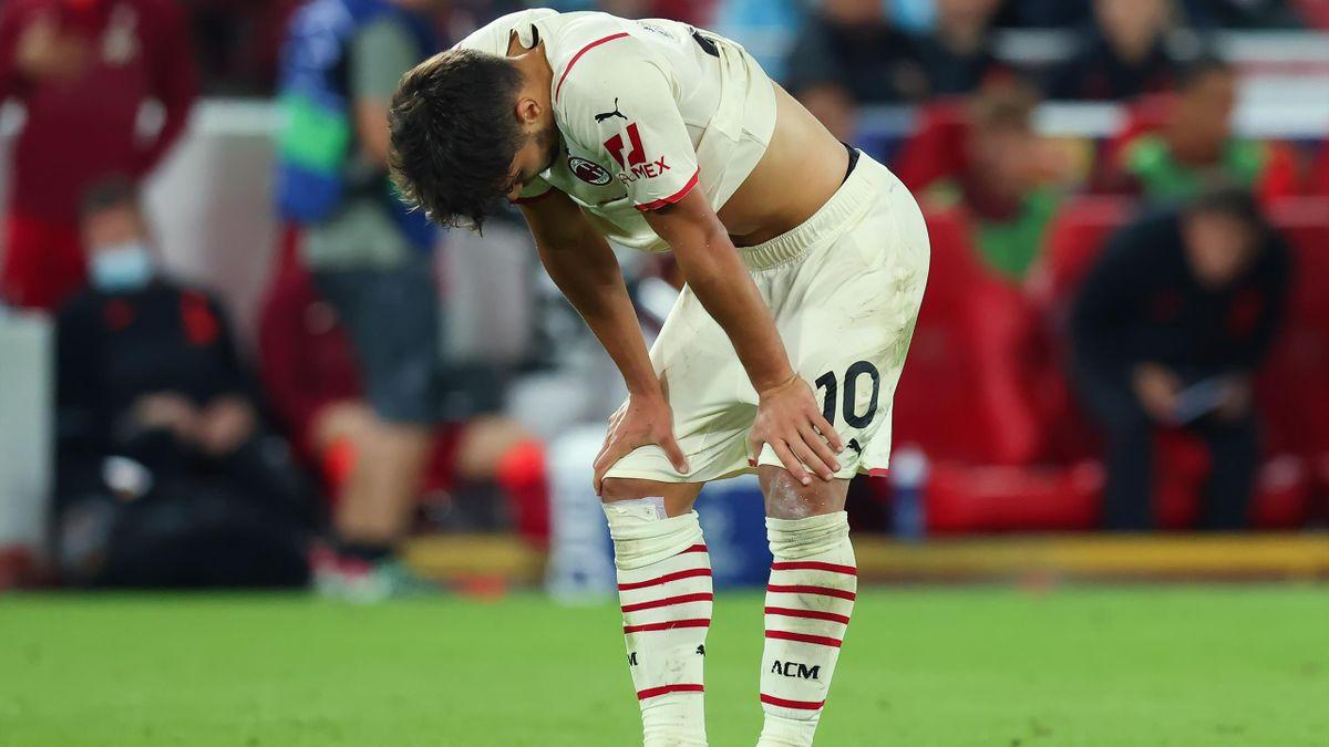 La frustrazione di Brahim Diaz, Liverpool-Milan, Getty Images