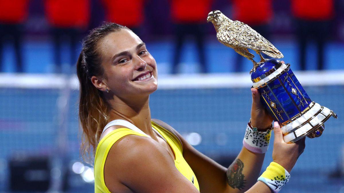 Aryna Sabalenka triomphe à Doha