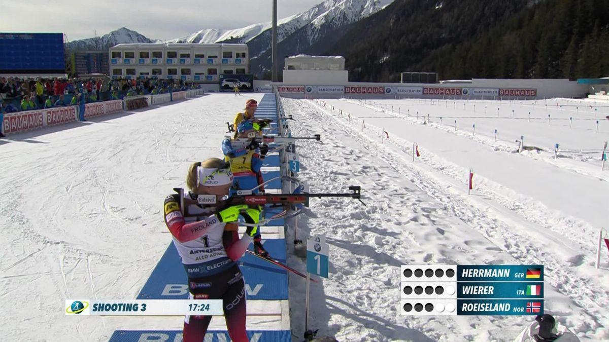 Biathlon : Antholz - 10km Pursuit - Highlights