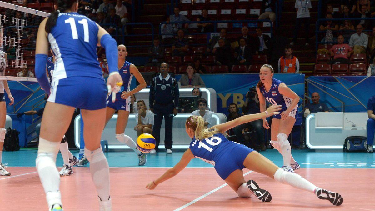 Сборная России уступила команде США на чемпионате мира-2014