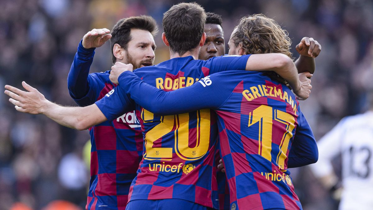 Messi, Griezmann - Barcelona-Getafe - Liga 2019/2020 - Getty Images