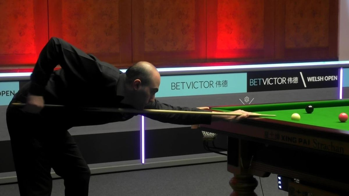 Watch: Tense final moments as Vafaei stuns Trump at Welsh Open