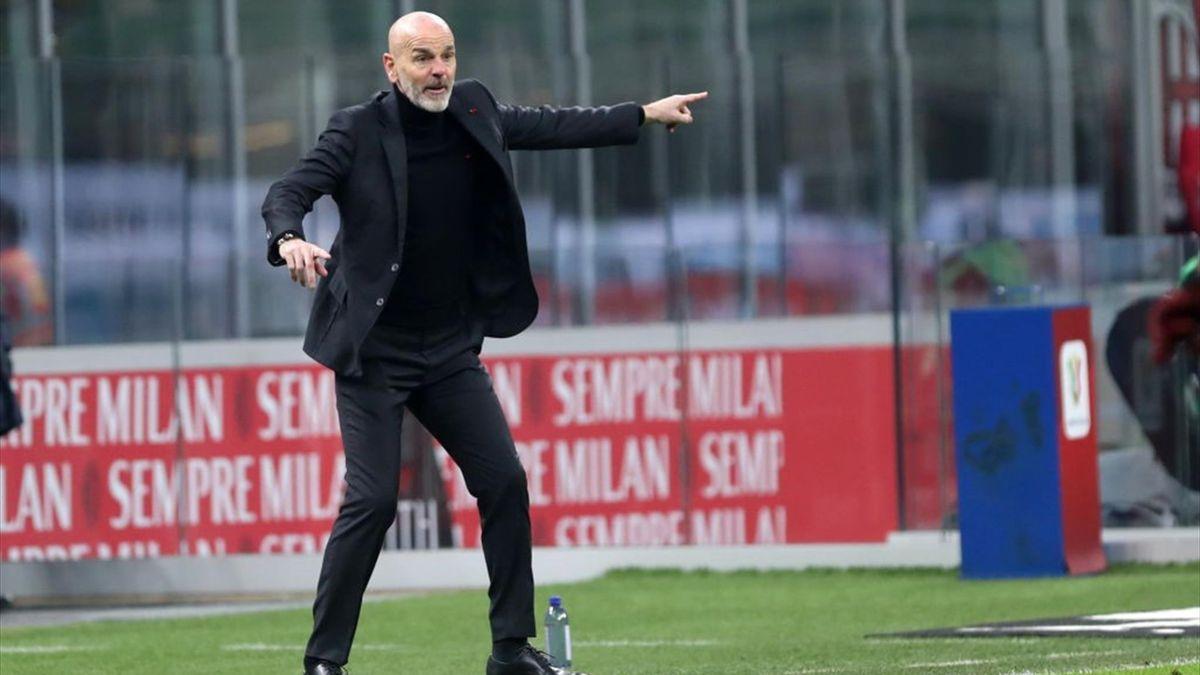 Stefano Pioli - Milan-Torino - Coppa Italia 2020/2021 - Getty Images