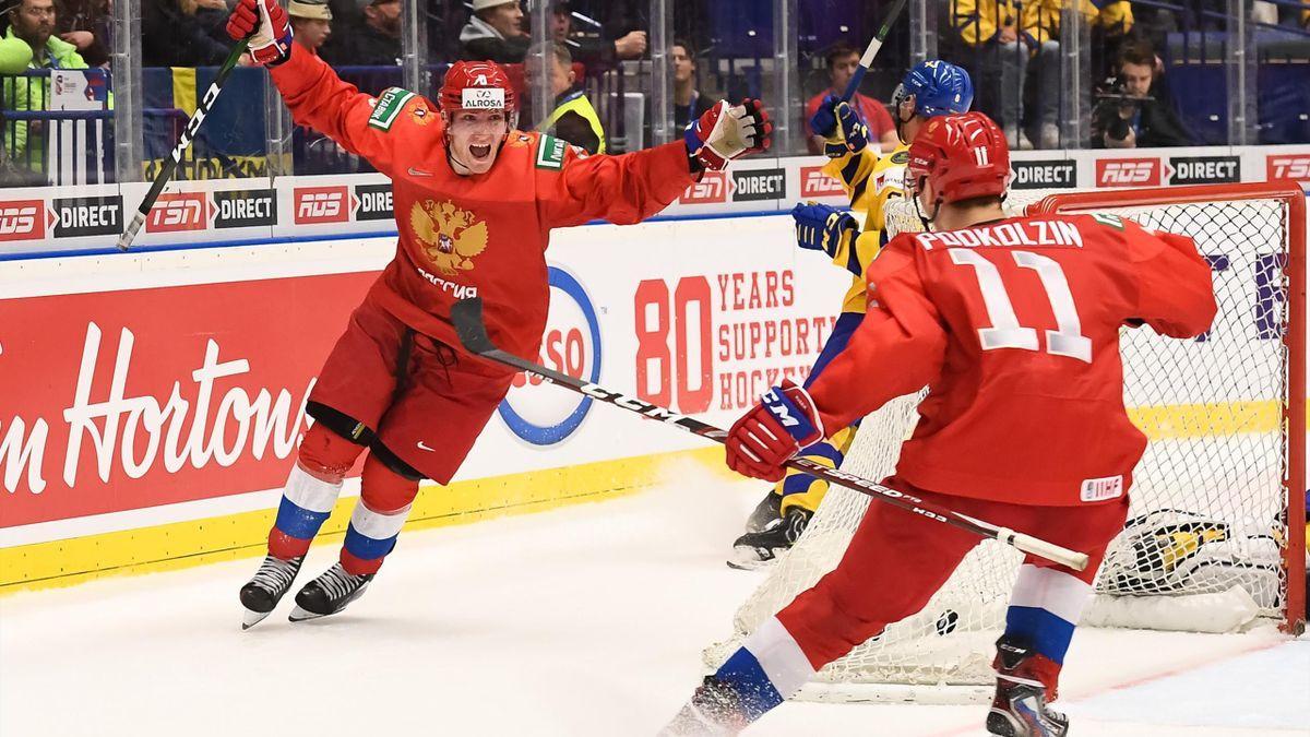 Иван Морозов, Василий Подколзин, Россия – Швеция, МЧМ-2020