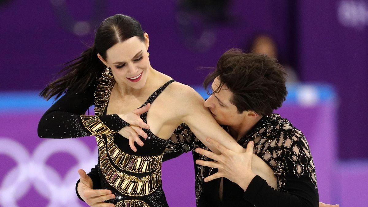 Eiskunstlauf bei Olympia 2018: Tessa Virtue & Scott Moir (Kanada)