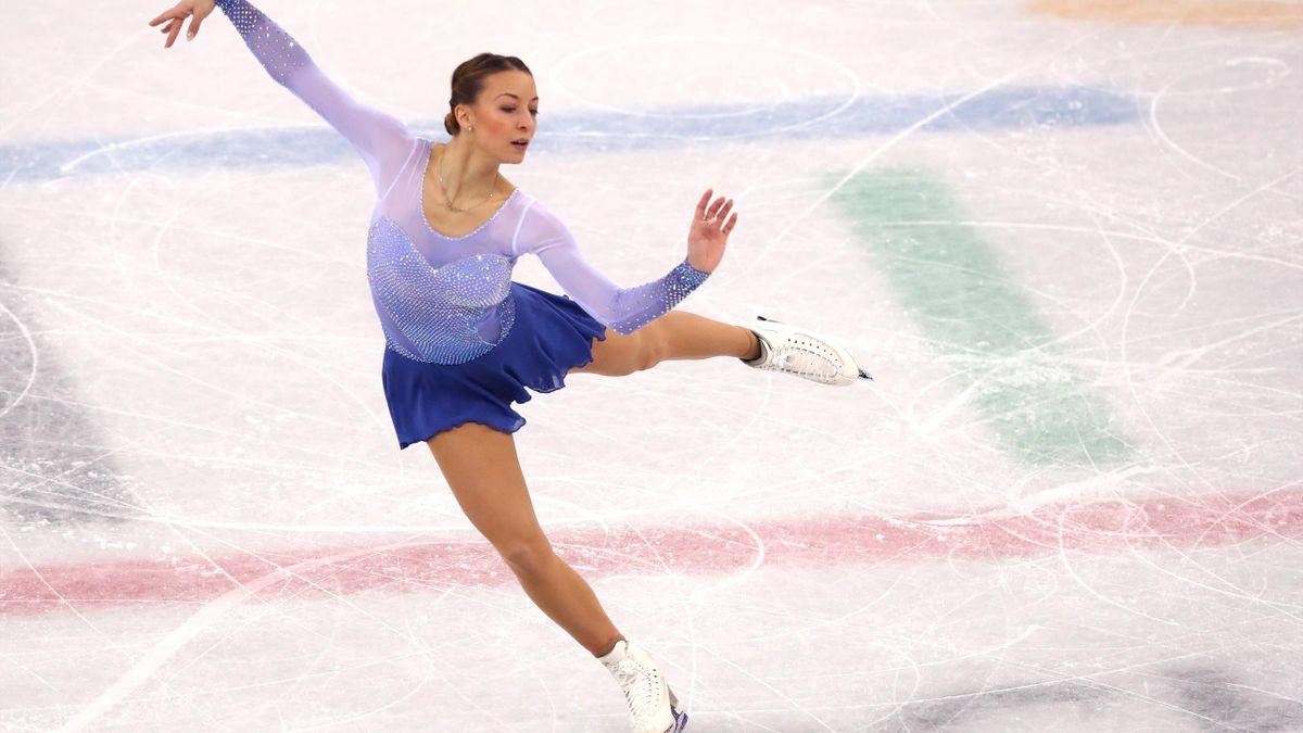 Eiskunstlauf bei Olympia 2018: Nicole Schott (Deutschland)