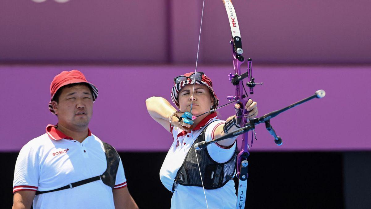 Гаслан Базаржапов и Ксения Перова