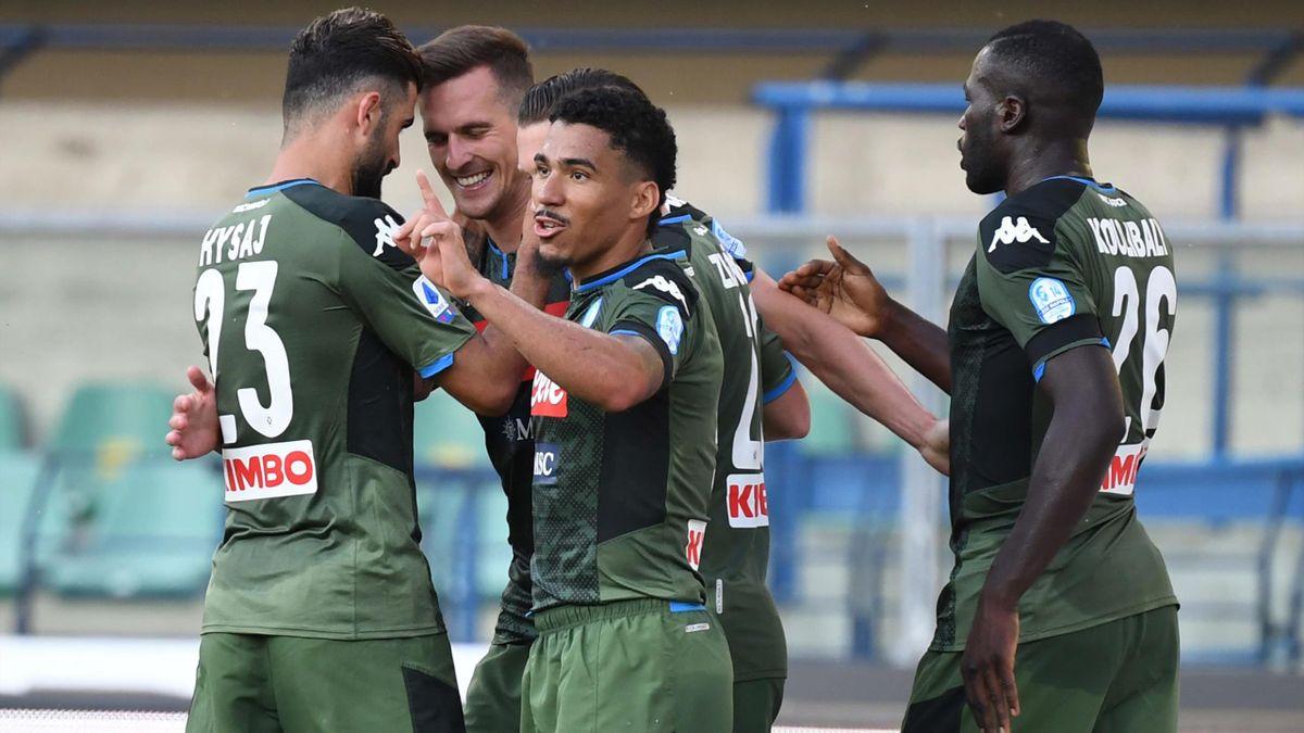 Milik - Hellas Verona-Napoli - Serie A 2019/2020 - Getty Images