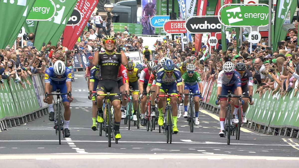 Tour Of Britain : Finish Stage 8