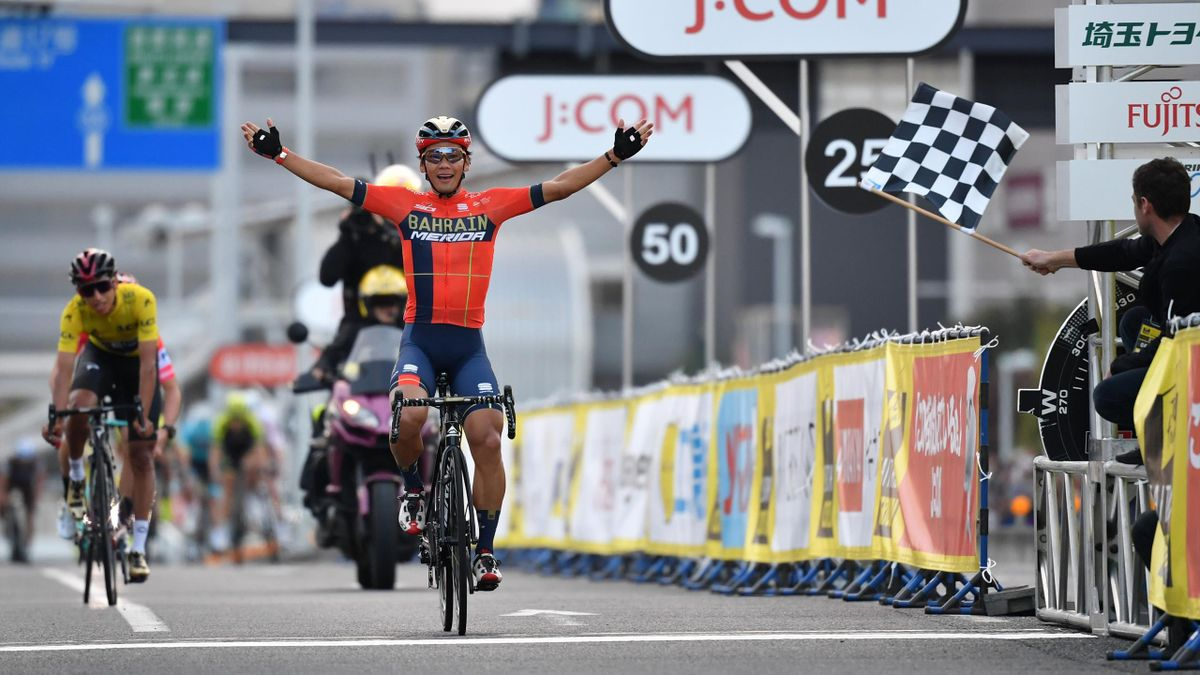 Cycling News Egan Bernal And Primoz Roglic Make Podium As Yukiya Arashiro Wins Saitama Criterium Eurosport