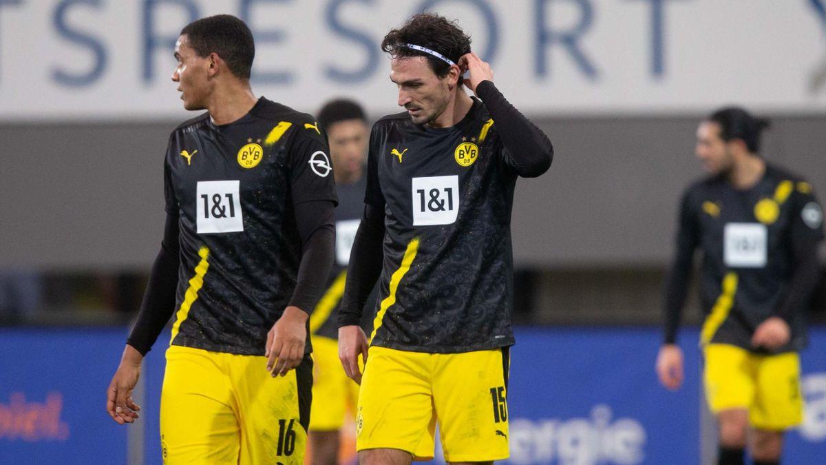 Manuel Akanji und Mats Hummels vom BVB